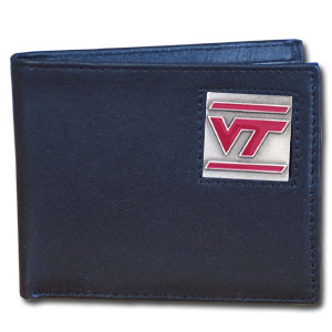Virginia Tech Leather Bifold Wallet (F)