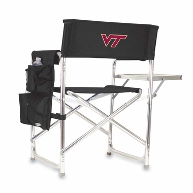 Virginia Tech Sports Chair (Black)