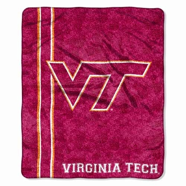 Virginia Tech Super-Soft Sherpa Blanket