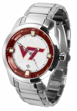 Virginia Tech Titan Men's Steel Watch