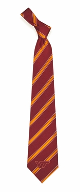 Virginia Tech Woven Poly 1 Necktie