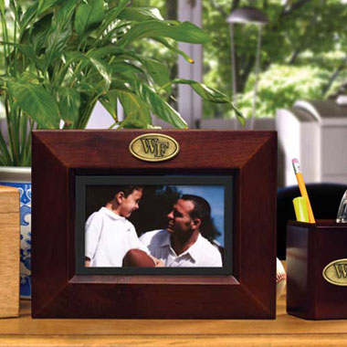 Wake Forest BROWN Landscape Picture Frame