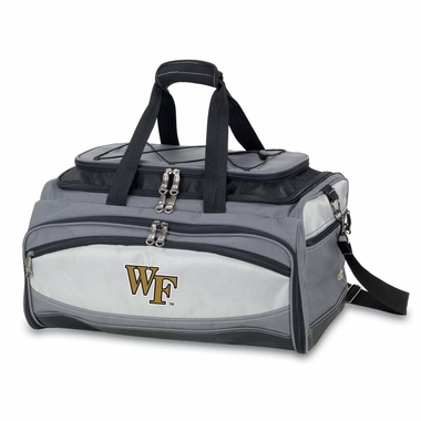 Wake Forest Buccaneer Tailgating Embroidered Cooler (Black)