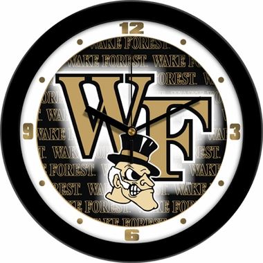 Wake Forest Dimension Wall Clock