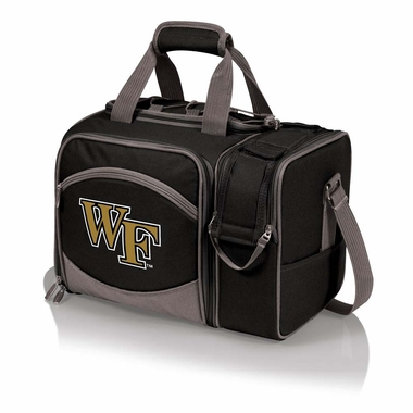 Wake Forest Malibu Picnic Cooler (Black)