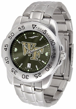 Wake Forest Sport Anonized Men's Steel Band Watch