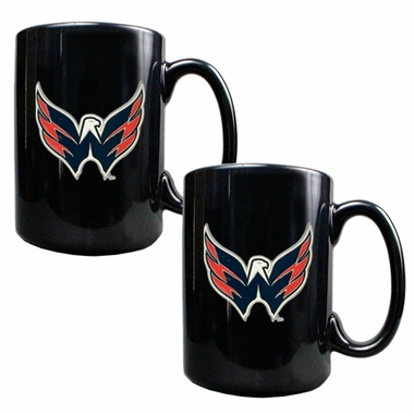 Washington Capitals 2 Piece Coffee Mug Set