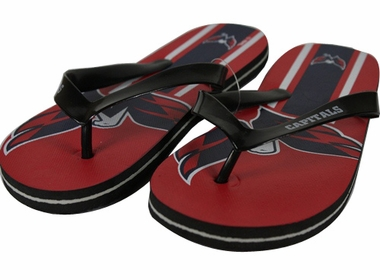 Washington Capitals 2012 Unisex Big Logo Flip Flops