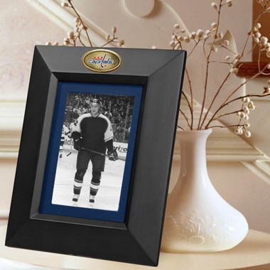 Washington Capitals BLACK Portrait Picture Frame