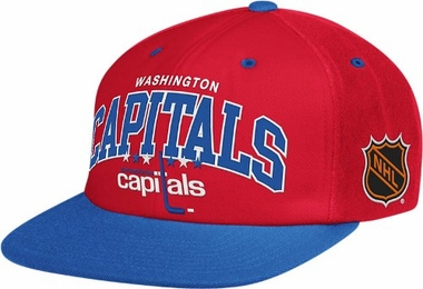 Washington Capitals Retro Arch Snapback Hat