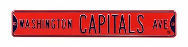Washington Capitols Ave Street Sign
