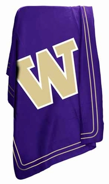 Washington Classic Fleece Throw Blanket