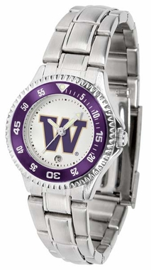 Washington Competitor Women's Steel Band Watch
