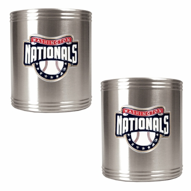 Washington Nationals 2 Can Holder Set