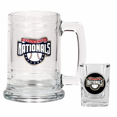 Washington Nationals Boilermaker Set