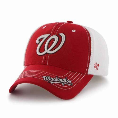 Washington Nationals Flux Structured Adjustable Mesh Hat