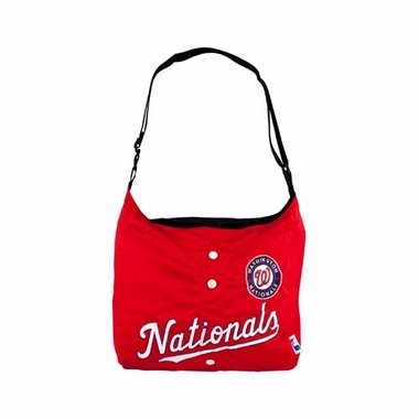 Washington Nationals Jersey Tote
