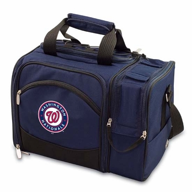 Washington Nationals Malibu Picnic Cooler (Navy)