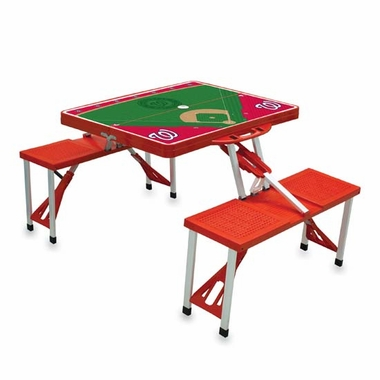 Washington Nationals Picnic Table Sport (Red)