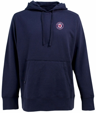 Washington Nationals Mens Signature Hooded Sweatshirt (Color: Navy)