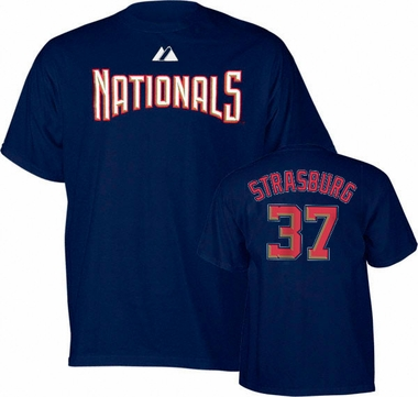 Washington Nationals Stephen Strasburg YOUTH Name and Number T-Shirt