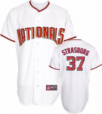 Washington Nationals Stephen Strasburg YOUTH Replica Player Jersey
