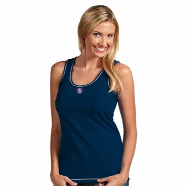Washington Nationals Womens Sport Tank Top (Color: Navy)