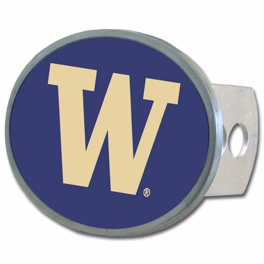 Washington Oval Metal Hitch Cover