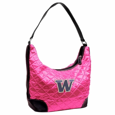 Washington Quilted Hobo Purse