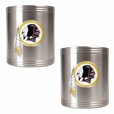 Washington Redskins 2 Can Holder Set