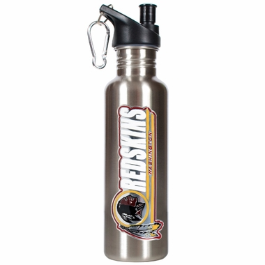 Washington Redskins 26oz Stainless Steel Water Bottle (Silver)