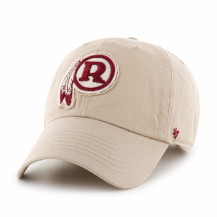 22b08c4dd8d6b Washington Redskins 47 Brand Wright Clean Up Adjustable Hat - Khaki