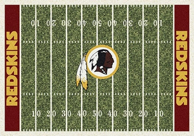 "Washington Redskins 7'8"" x 10'9"" Premium Field Rug"