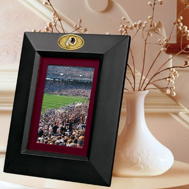Washington Redskins BLACK Portrait Picture Frame