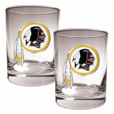 Washington Redskins Double Rocks Set