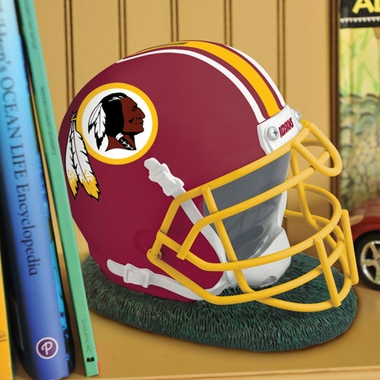 Washington Redskins Helmet Shaped Bank