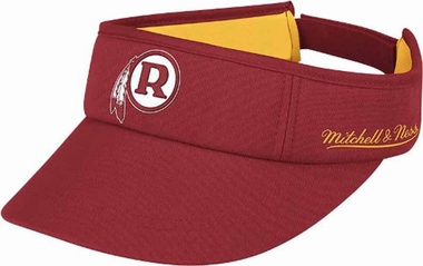 Washington Redskins Mitchell & Ness Throwback Adjustable Summer Visor