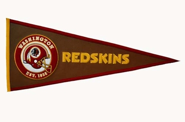 Washington Redskins Pigskin Pennant