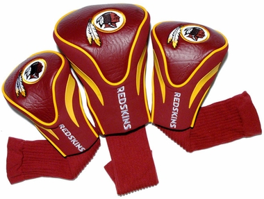 Washington Redskins Set of Three Contour Headcovers