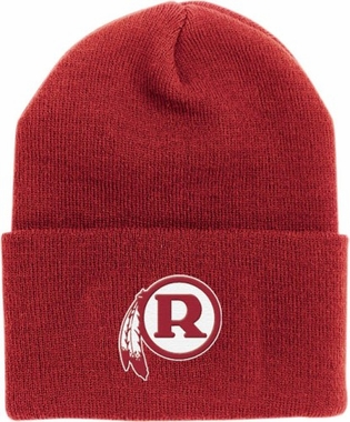Washington Redskins Throwback Logo Cuffed Knit Hat