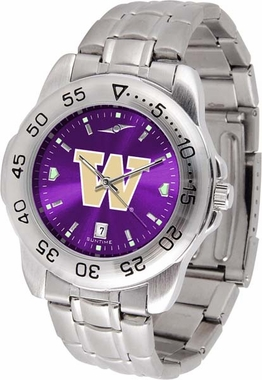 Washington Sport Anonized Men's Steel Band Watch
