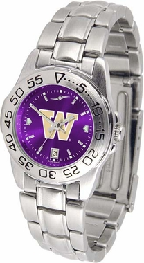 Washington Sport Anonized Women's Steel Band Watch
