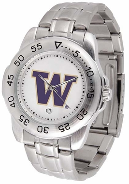Washington Sport Men's Steel Band Watch