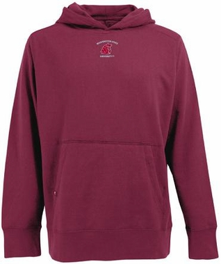 Washington State Mens Signature Hooded Sweatshirt (Color: Maroon)