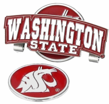 Washington State Slider Clip With Ball Marker