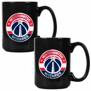 Washington Wizards 2 Piece Coffee Mug Set