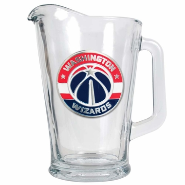 Washington Wizards 60 oz Glass Pitcher