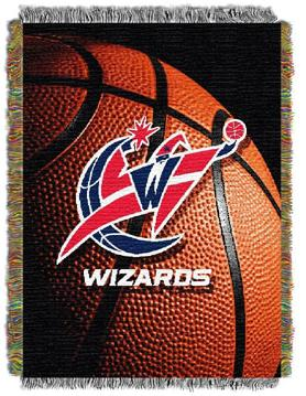 Washington Wizards Woven Tapestry Blanket