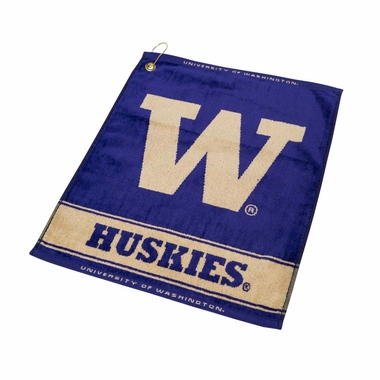 Washington Woven Golf Towel
