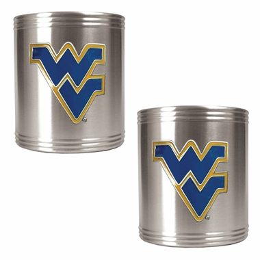 West Virginia 2 Can Holder Set